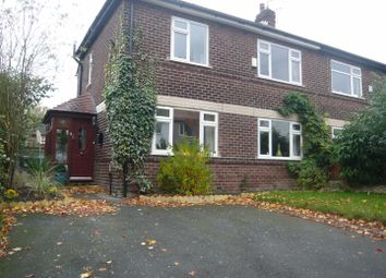 Thumbnail 3 bed semi-detached house to rent in The Grove, Flixton, Urmston, Manchester