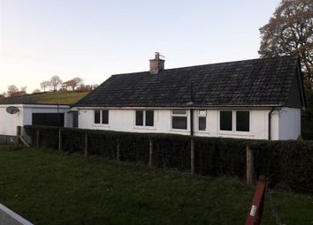 Thumbnail 3 bed detached bungalow to rent in Llanerfyl, Welshpool