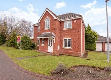 Thumbnail 4 bed detached house for sale in Redacre Close, Dutton, Warrington