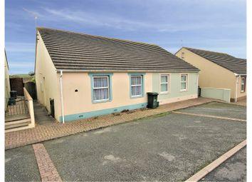 Thumbnail 2 bed semi-detached bungalow for sale in Connaught Place, Pembroke Dock