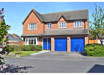 Thumbnail 5 bed detached house for sale in North Bush Furlong, Didcot