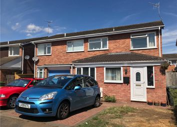 Thumbnail 3 bed semi-detached house for sale in Austwick Close, Warwick, Warwickshire