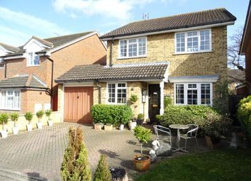 Thumbnail 3 bed detached house for sale in Sanway Close, Byfleet