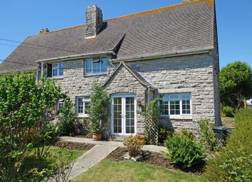 Thumbnail 3 bed semi-detached house for sale in Three Acre Lane, Langton Matravers, Swanage