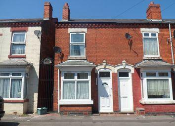 Thumbnail 3 bedroom terraced house to rent in West Heath Road, Winson Green, Birmingham
