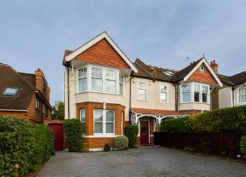 Thumbnail 4 bed semi-detached house for sale in Woodfield Road, Ealing, Greater London.