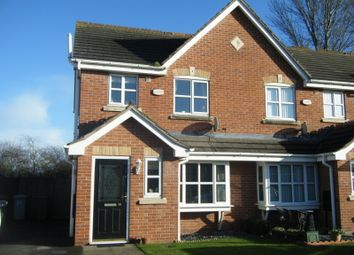 Thumbnail 3 bed semi-detached house to rent in Brockton Avenue, Farndon, Newark