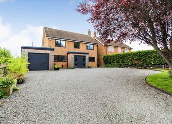 Thumbnail 4 bed detached house for sale in Hollybank, Station Road, Upper Broughton, Leicestershire