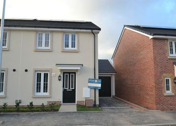 Thumbnail 3 bed semi-detached house to rent in Ash Drive, South Molton