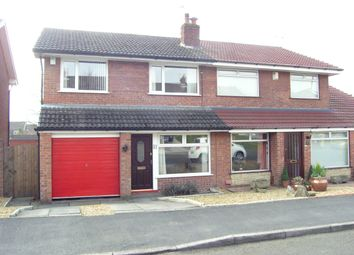 Thumbnail 3 bedroom semi-detached house for sale in Fellbridge Close, Westhoughton