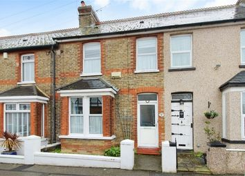Thumbnail 2 bed terraced house for sale in Belmont Road, Westgate-On-Sea