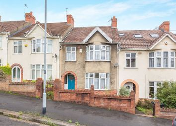 Thumbnail 3 bed terraced house for sale in Ravenhill Road, Bristol