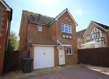 Thumbnail 3 bedroom detached house to rent in The Orchard, Virginia Water