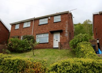 Thumbnail 2 bed semi-detached house for sale in Darren Las, Merthyr Vale