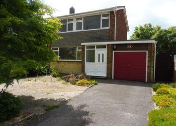 Thumbnail 3 bed semi-detached house to rent in Cutlers Lane, Stubbington, Fareham