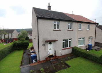 Thumbnail 2 bed semi-detached house for sale in Burns Road, Greenock, Renfrewshire