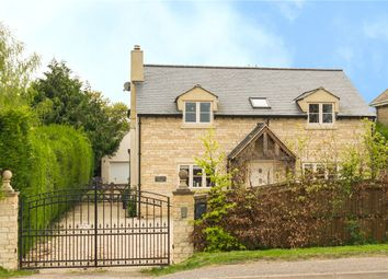 Thumbnail 4 bedroom detached house for sale in Burford Road, Minster Lovell, Witney