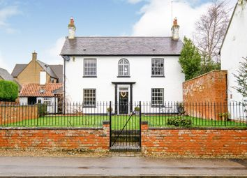 Thumbnail 4 bed detached house for sale in North Street, Rothersthorpe, Northampton
