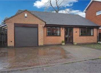 Thumbnail 3 bed detached bungalow for sale in Butt Lane Close, Hinckley
