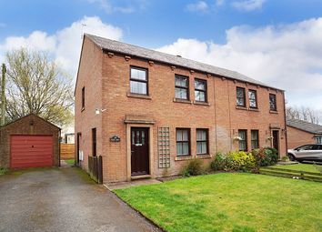 Thumbnail 3 bed semi-detached house for sale in Station Road, Carlisle