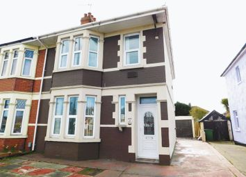 Thumbnail 3 bed semi-detached house to rent in Merthyr Road, Whitchurch, Cardiff