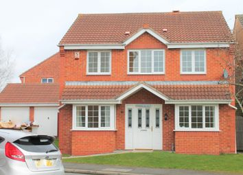 Thumbnail 4 bed detached house to rent in Weir Close, Leicester