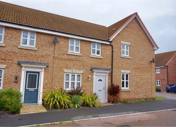 Thumbnail 3 bed terraced house for sale in Octavian Crescent, North Hykeham