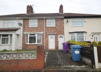 Thumbnail 3 bed town house for sale in Churchdown Road, Knotty Ash, Liverpool