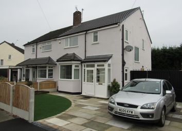 Thumbnail 3 bed semi-detached house for sale in Redburn Road, Wythenshawe, Manchester