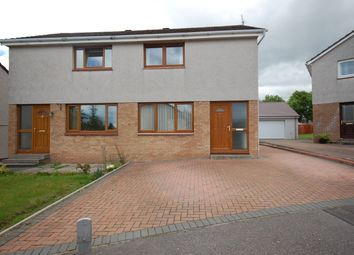 Thumbnail 2 bed semi-detached house for sale in Golf View Crescent, Elgin