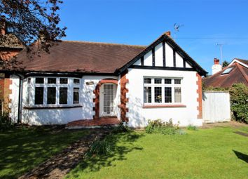 Thumbnail 3 bed detached bungalow for sale in Woodcote Park Road, Epsom