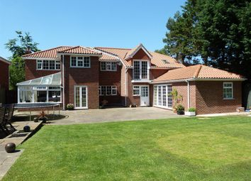 Thumbnail 6 bed detached house for sale in Cassbrook Drive, Fulstow, Louth