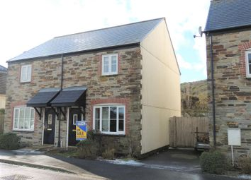Thumbnail 2 bed semi-detached house to rent in Goonbarrow Meadow, Bugle, St. Austell