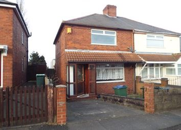 Thumbnail 3 bed semi-detached house for sale in Jowetts Lane, West Bromwich, West Midlands