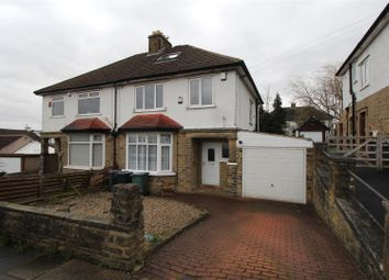 Thumbnail 3 bed semi-detached house to rent in Nab Wood Road, Shipley