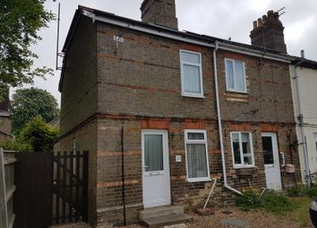 Thumbnail 2 bed end terrace house for sale in Newmarket Road, Ashley