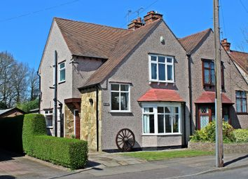 Thumbnail 3 bed semi-detached house for sale in Stoneleigh Avenue, Earlsdon, Coventry
