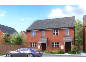 Thumbnail 2 bed semi-detached house for sale in Hawkins Place, Saffron Walden