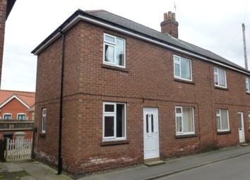 Thumbnail 3 bed end terrace house to rent in Priory Road, Louth