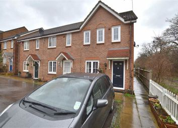 Thumbnail 3 bed end terrace house for sale in Fairfield Way, Great Ashby, Stevenage, Herts