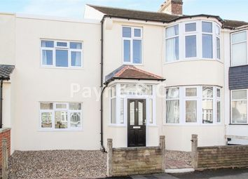 Thumbnail 4 bed terraced house for sale in Edward Road, Chadwell Heath, Essex