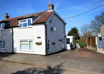 Thumbnail 2 bed cottage for sale in Stockhouse Lane, Surfleet, Spalding