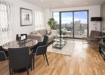 Thumbnail 3 bed flat for sale in Leven Road, London