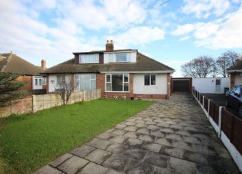 Thumbnail 2 bed semi-detached bungalow for sale in Hexham Avenue, Thornton-Cleveleys