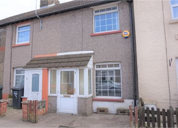 Thumbnail 2 bed terraced house for sale in Broomfield Road, Swanscombe