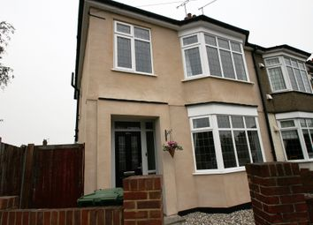 Thumbnail 3 bedroom semi-detached house to rent in Rectory Road, Grays