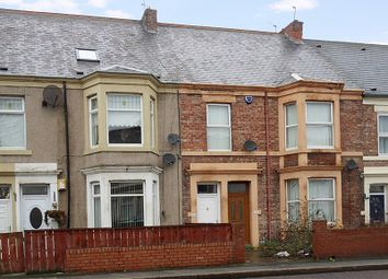 Thumbnail 3 bedroom flat for sale in Welbeck Road, Walker, Newcastle Upon Tyne