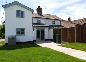 Thumbnail 2 bed cottage for sale in Bridge Road, Bunwell, Norwich