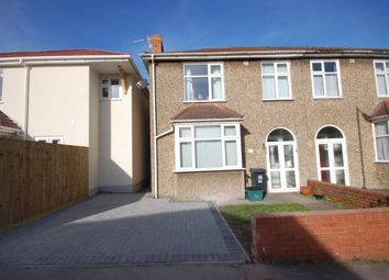 Thumbnail 3 bedroom semi-detached house for sale in Bellevue Road, St George, Bristol, 7Pg.