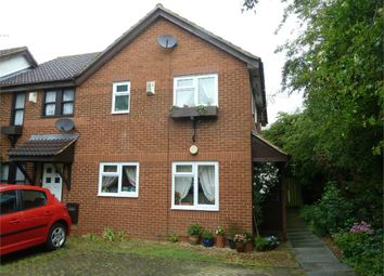 Thumbnail 1 bedroom terraced house for sale in Boxberry Gardens, Walnut Tree, Milton Keynes